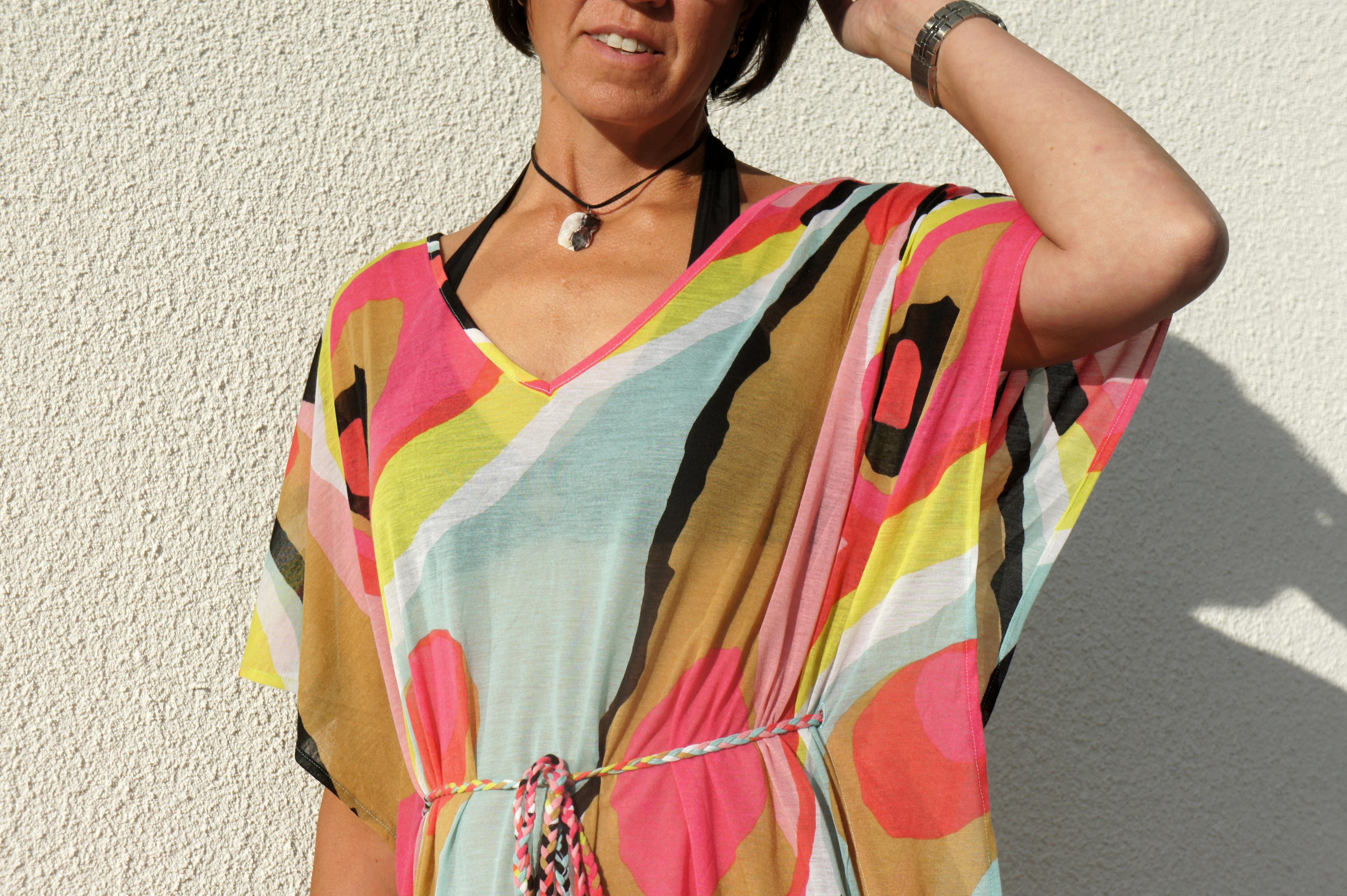 Glassklänning från H&M