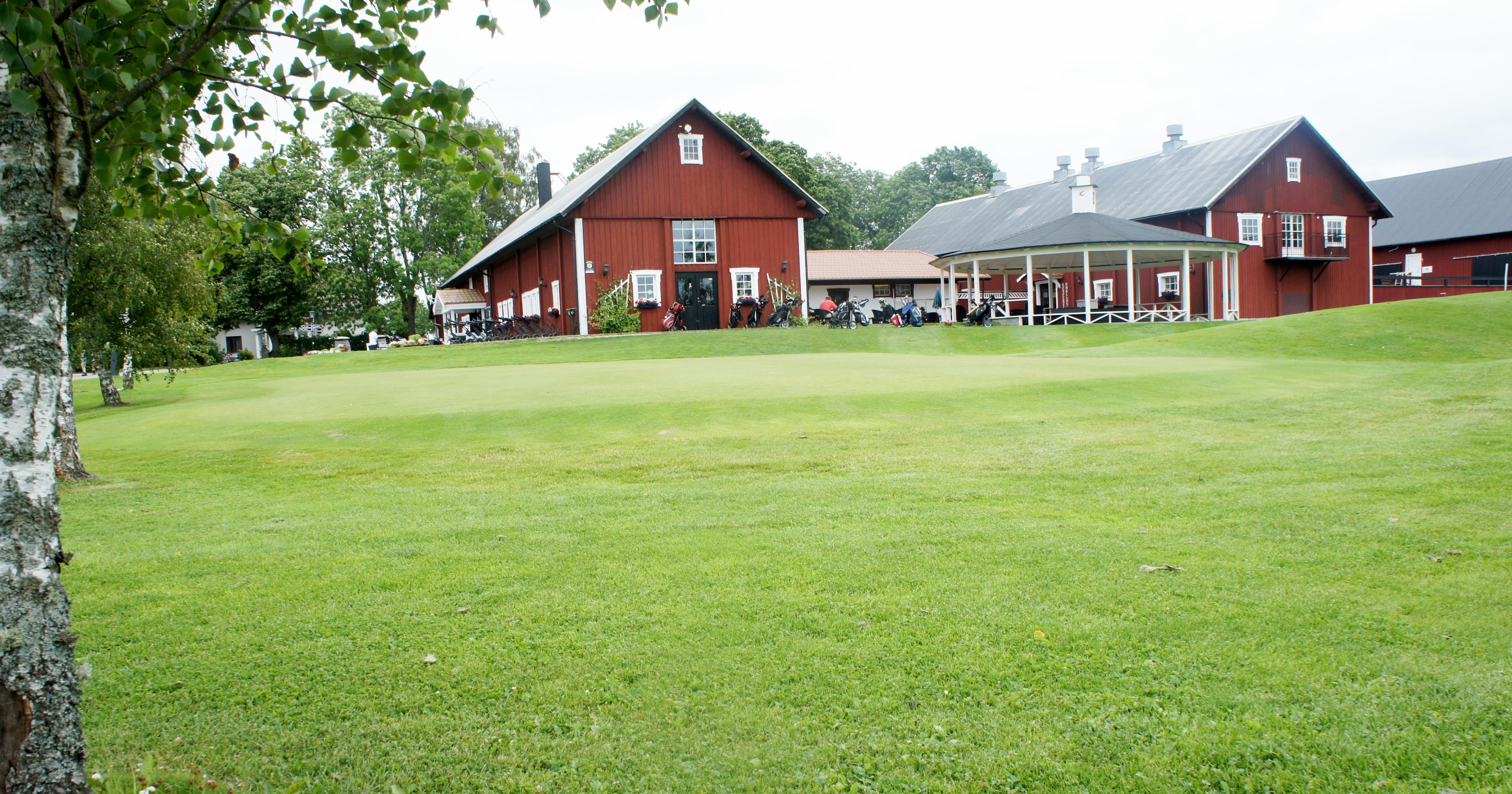 Klubbhuset på Orresta golfklubb