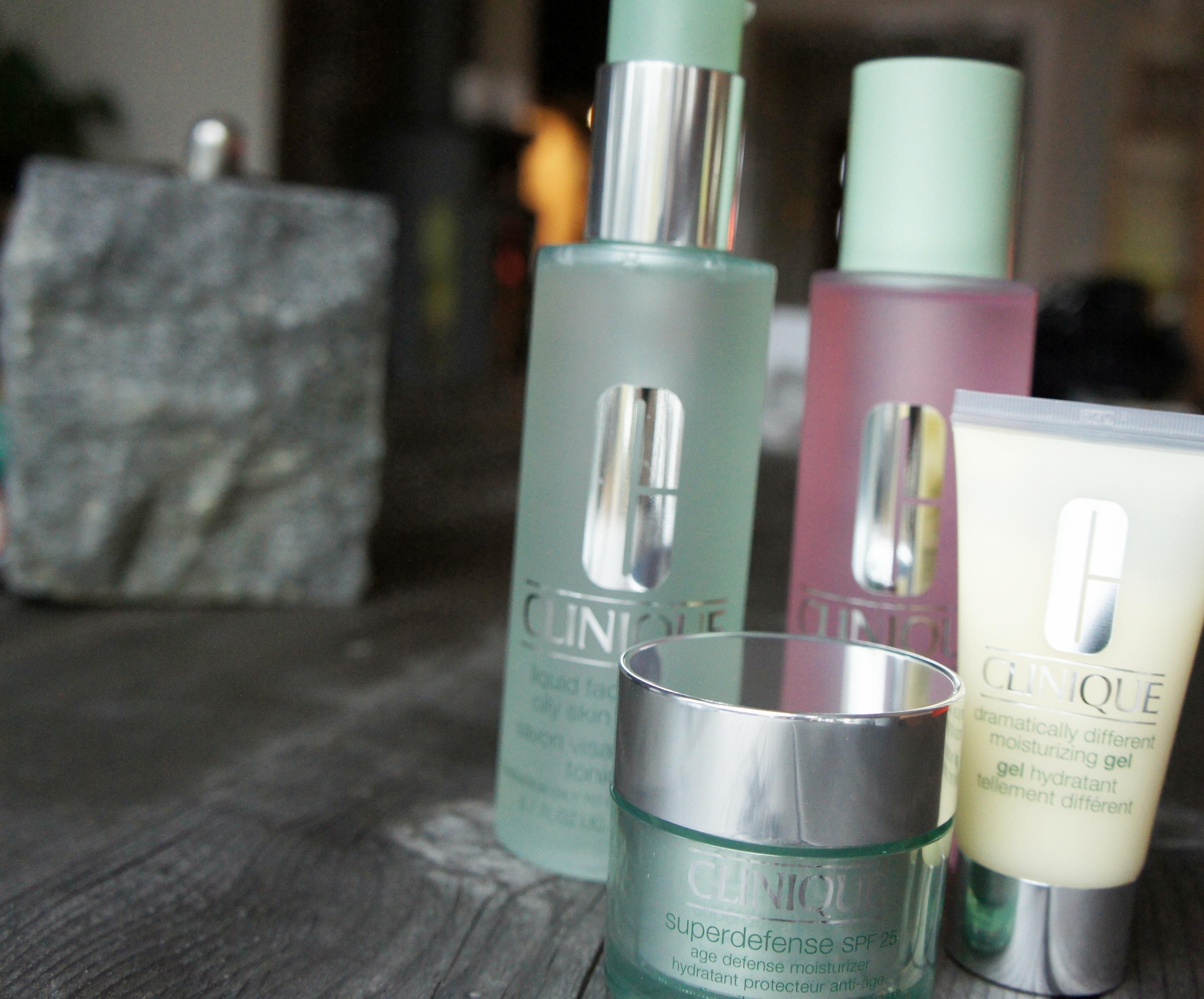 Clinique's hudvårdsprodukter