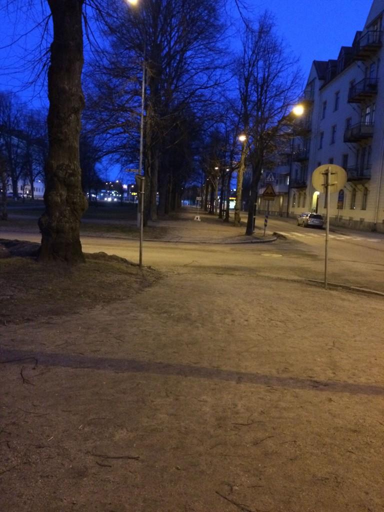 Löptur morgon Gävle