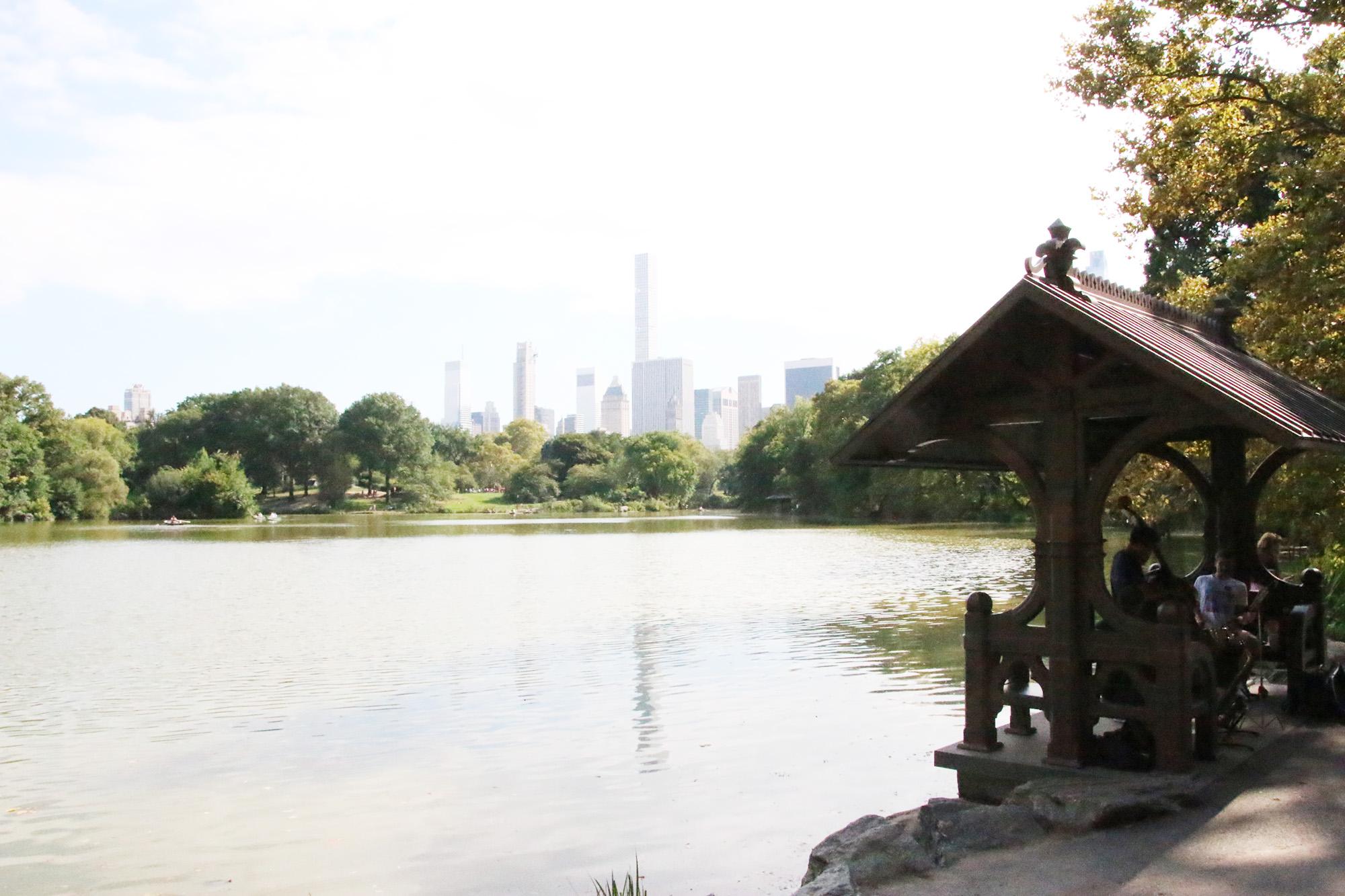 En fantastisk gratisaktivitet, att få lyssna på jazzmusik i Central Park
