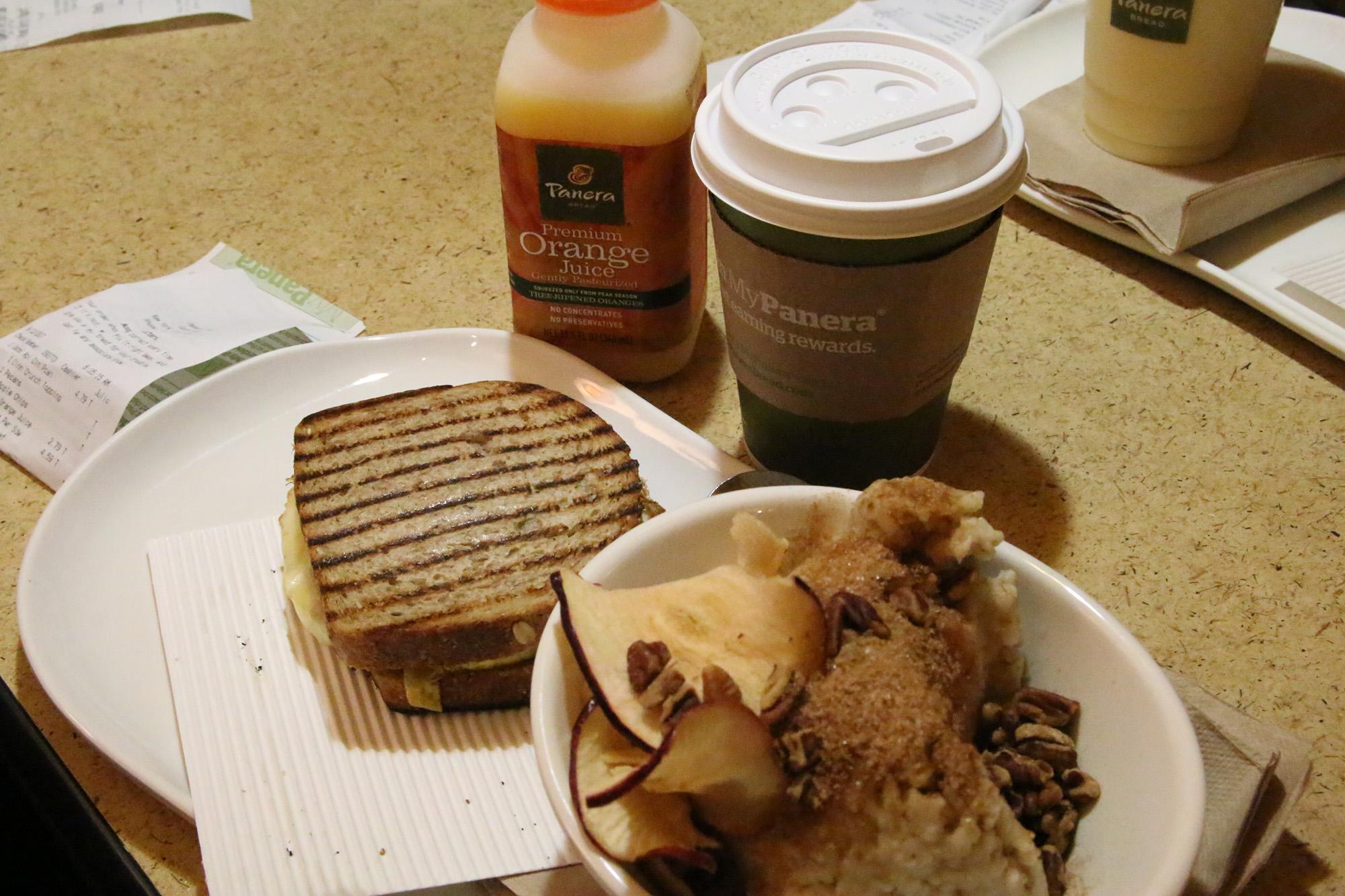 Panera Bread - ett riktigt bra frukostställe på Manhattan