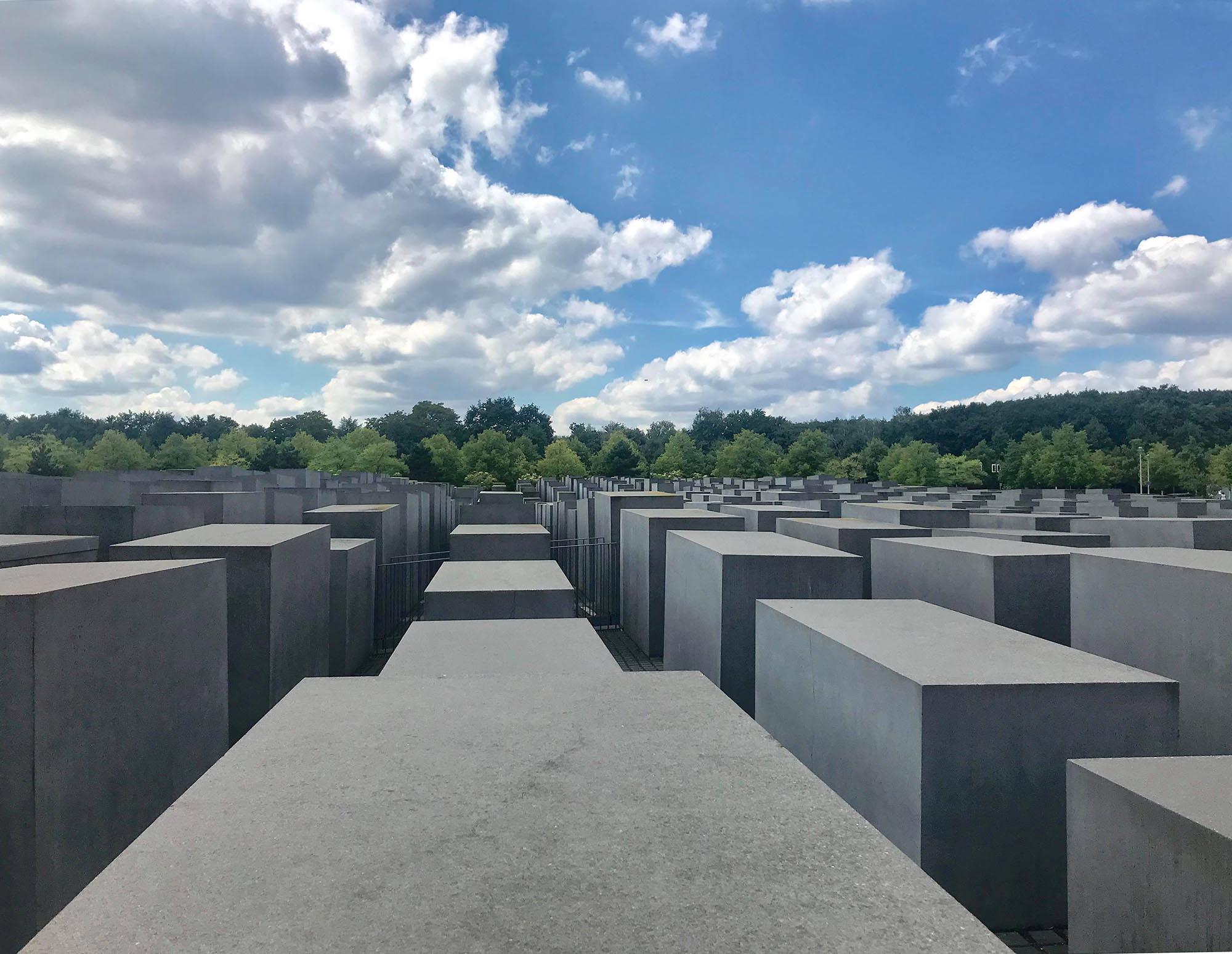 Förintelsemonumentet i Berlin