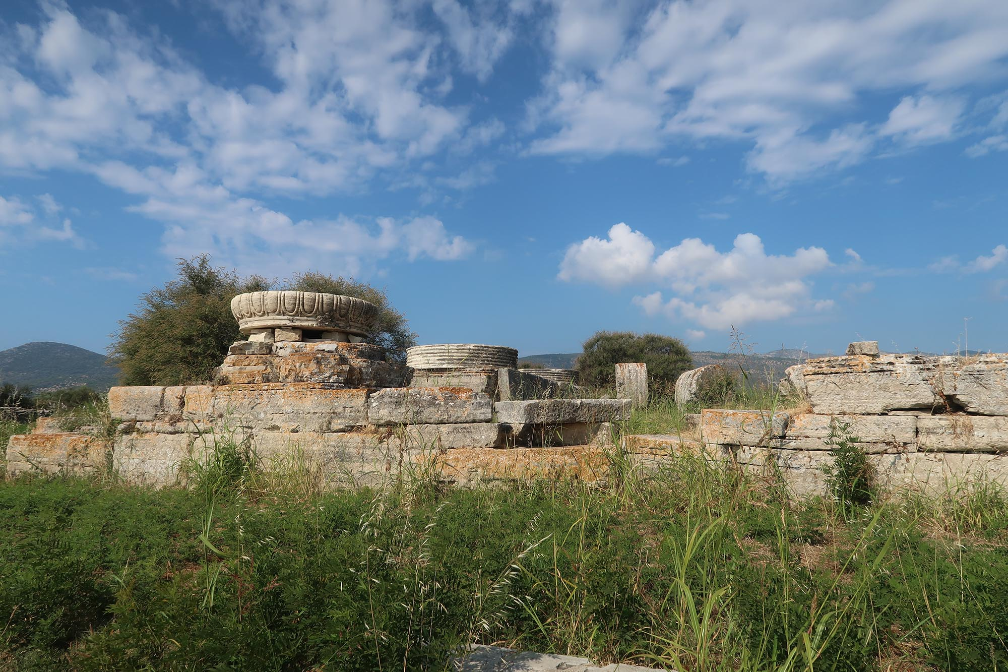 Utflykt på Samos med bland annat stopp på Heras Tempel