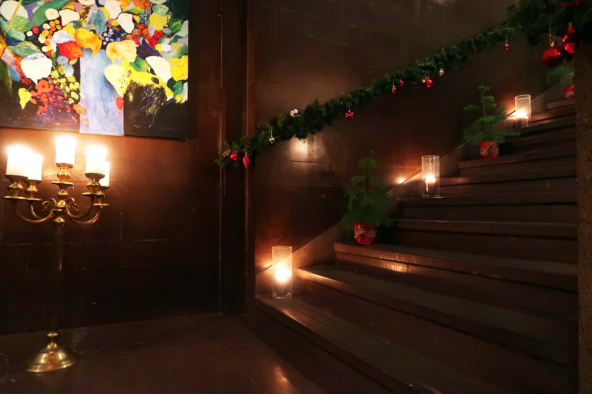 julfest på hahrska palazet