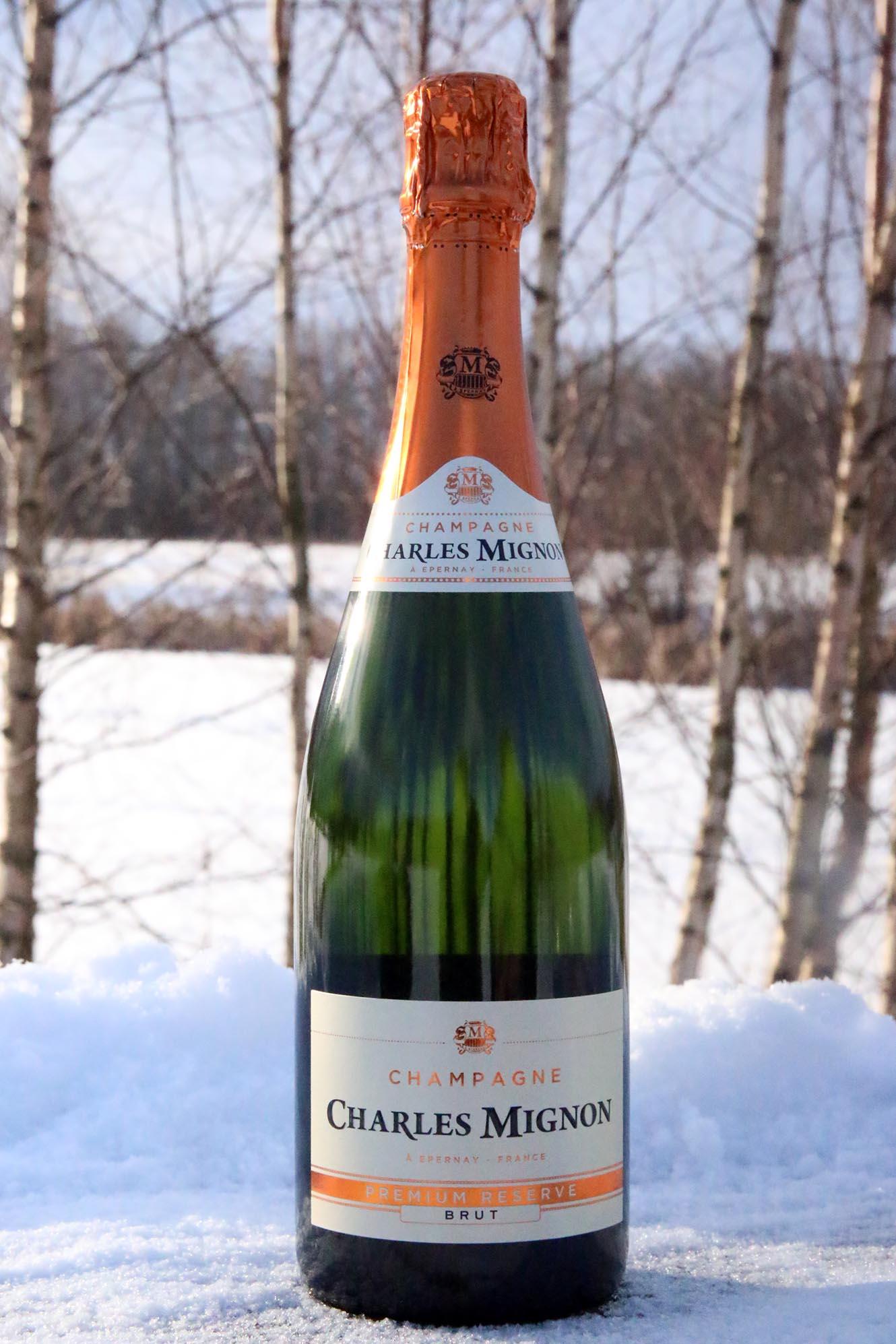 Att unna sig champagne utan en speciell anledning!