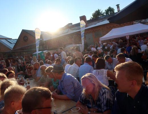 Kesuddens hantverksbryggeri bjöd in till bryggerifest