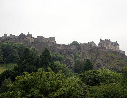 Edinburgh castle - ett slott man måste besöka