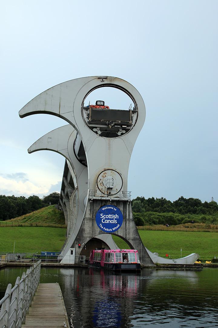Falkirkhjulet eller The Falkirk wheel