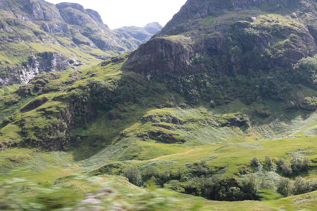 Skotska höglandet - en bild från en oredigerad bildbomb
