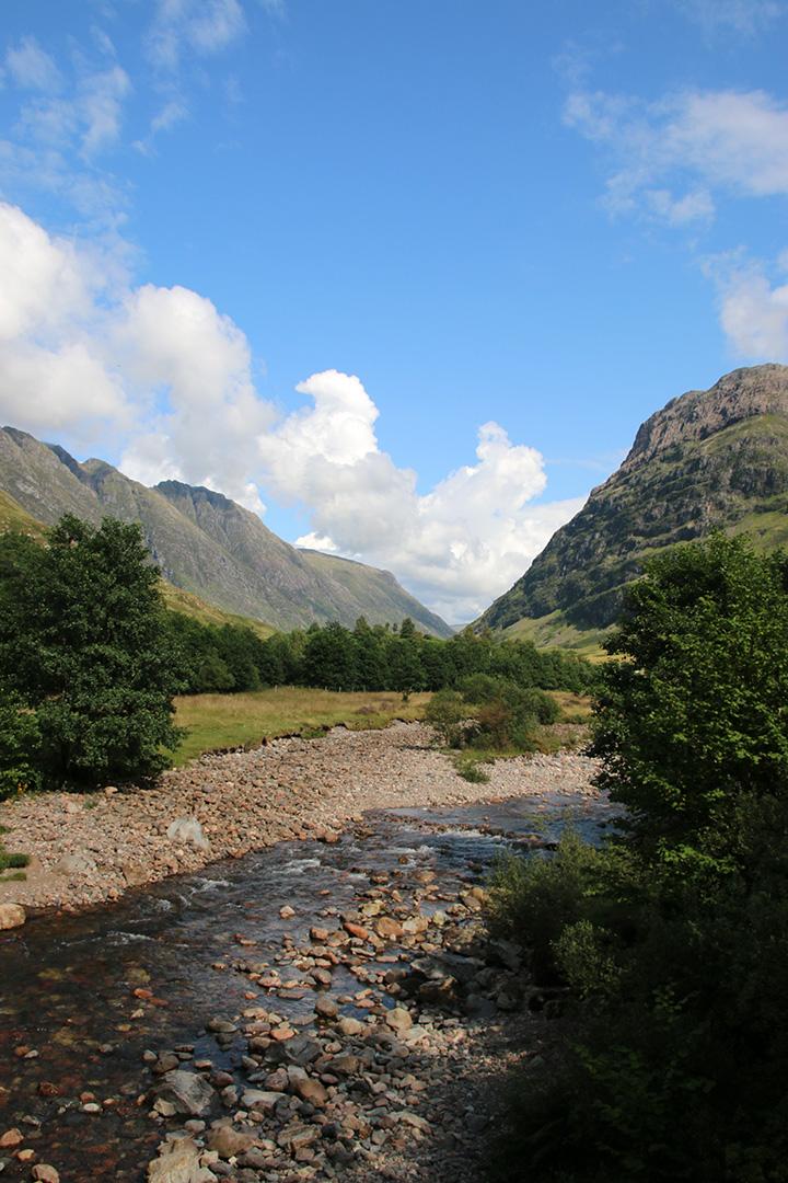 En liten inblick i naturområdet Glencoe