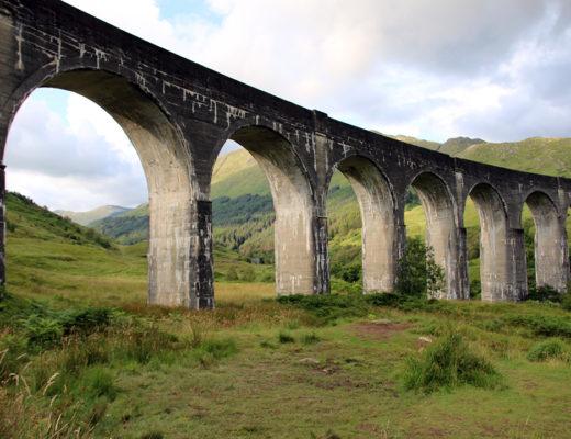 Glennfinnanviadukten i skotska höglandet