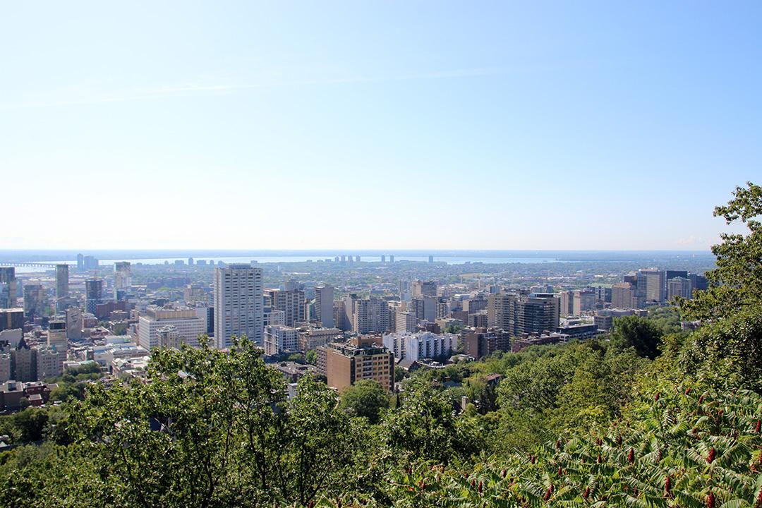 Mount Royal Park - en oas mitt i Montreal