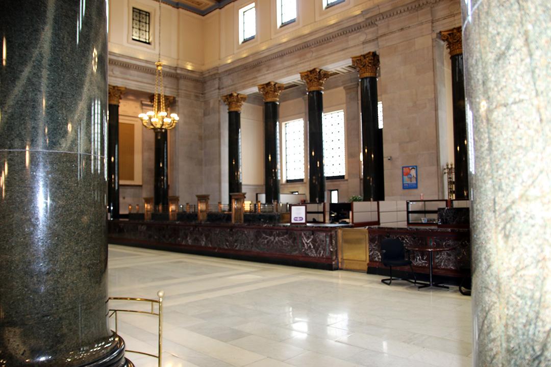 Bank of Montreal som rymmer ett bankmuseum.