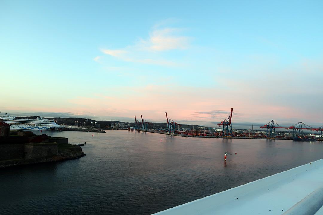 På väg mot Kiel