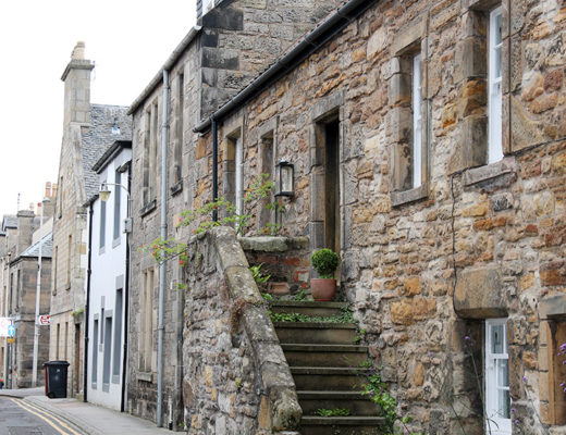 St Andrews var en gullig liten stad.