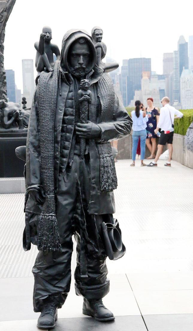 En hård man på The Met