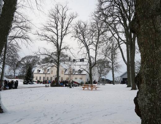 Julmarknad på Hammarskogs Herrgård
