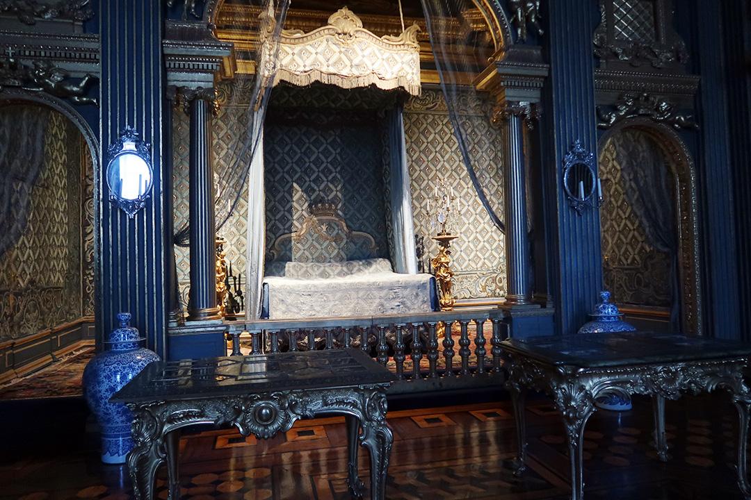 Hedvig Eleonoras paradsängkammare på Drottningsholms slott