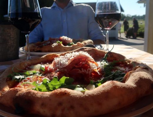 Napoletansk pizza på Enköpings golfklubb