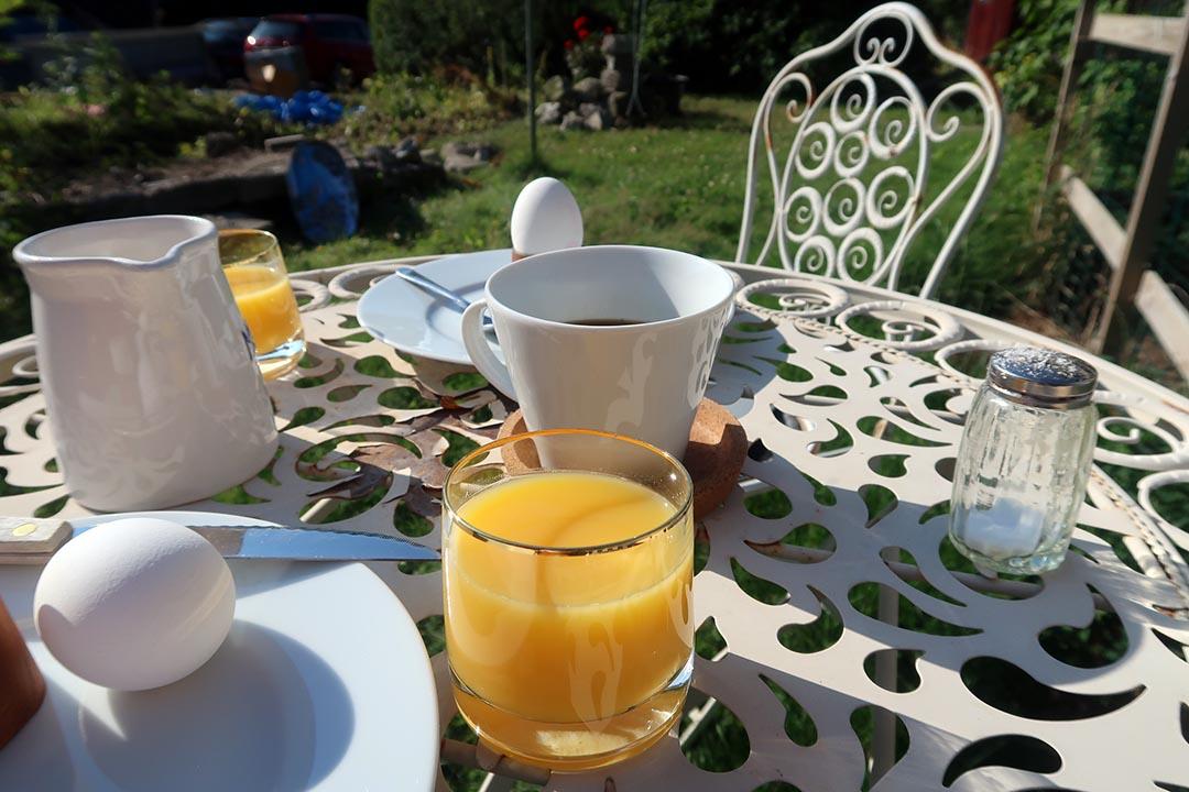 Frukostbilder kan man inte ta för många
