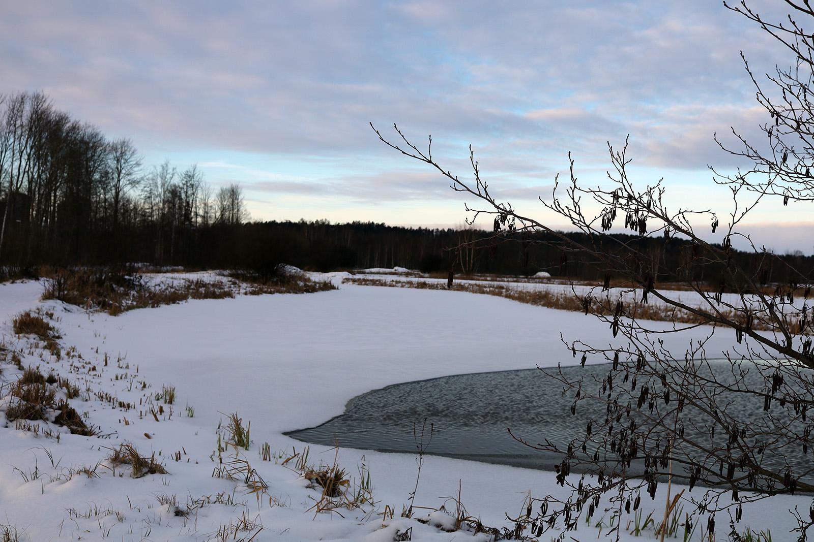 Energigivande vinterlandskap