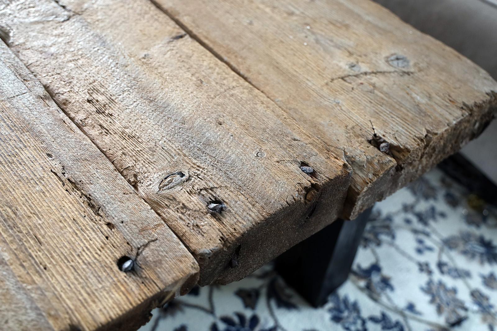 Egentillverkat plankbord med min egen släkthistoria