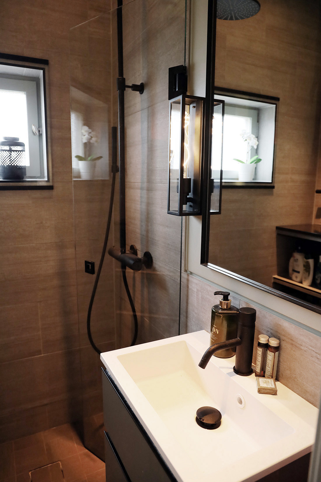 Renoverat badrum med premiumkänsla