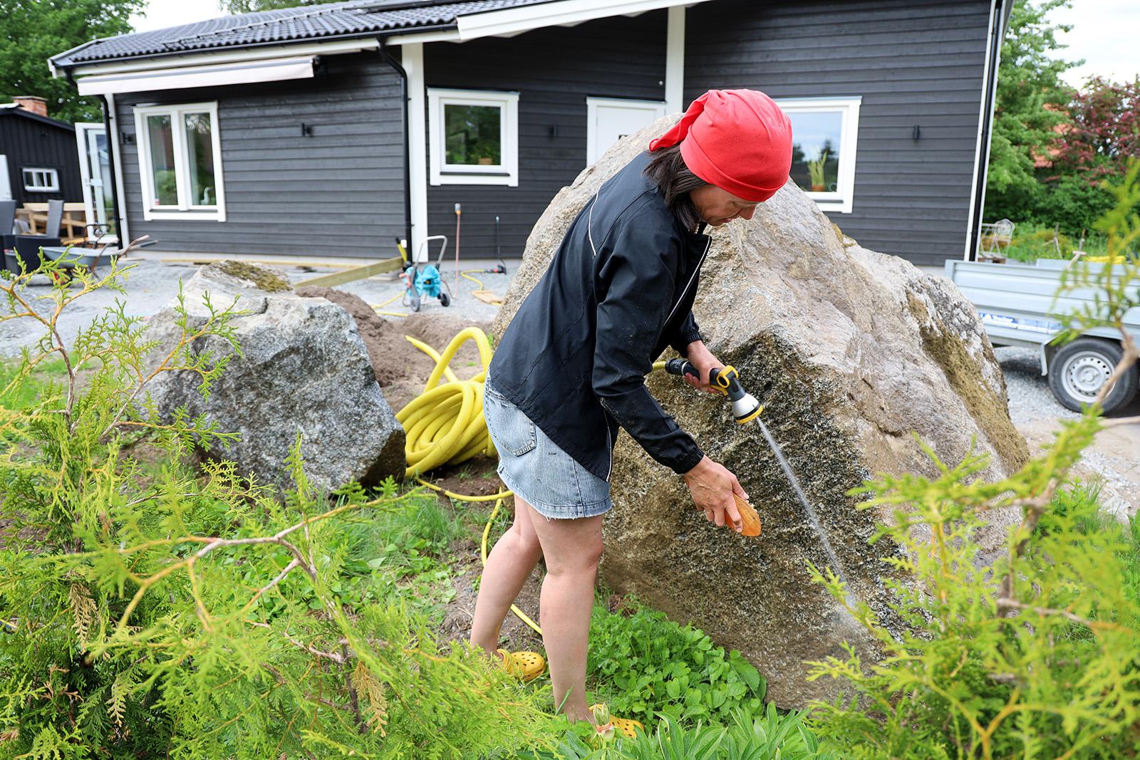 Skura stenar är också en sysselsättning